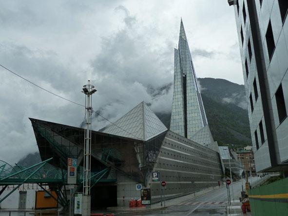 Kyrka. Andorra la Vella