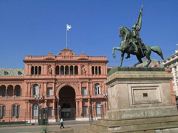 Casa Rosa. Buenos Aires