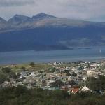 Vy över Ushuaia