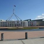Regeringsbyggnad. Canberra