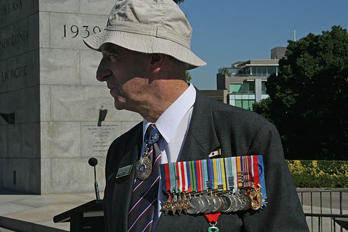 Krigsveteran. Melbourne