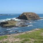 Vy från Phillip Island
