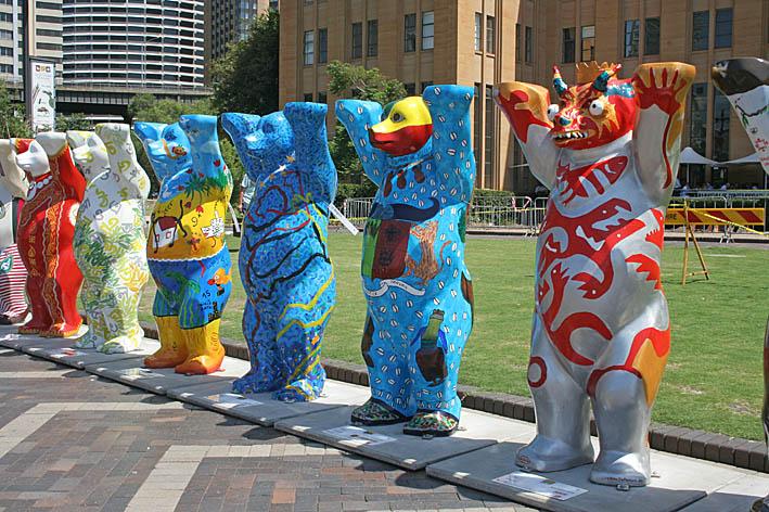 Björnutställningen. Sydney