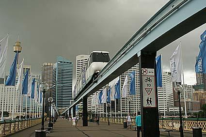 Monorailen. Sydney