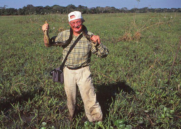 Anacondajakt. Amazonas