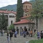 Klostret. Bachkovo