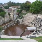 Romerska teatern. Plovdiv