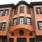 Gammalt hus. Plovdiv