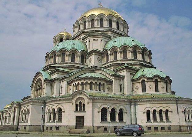 Alexandur Nevski katedralen. Sofia