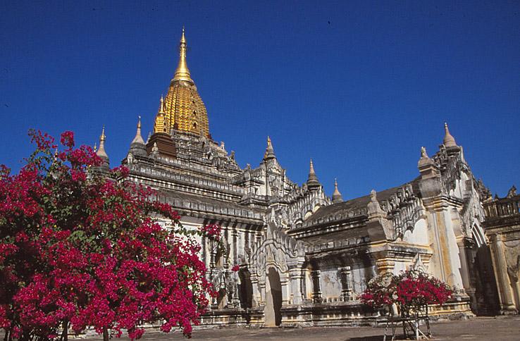 En av huvudpagoderna. Bagan