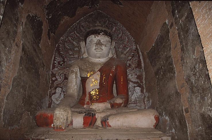 Buddhastaty. Bagan