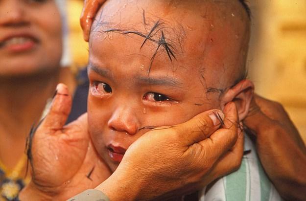 Blivande munk. Bagan