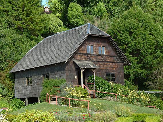 Tyskt hus. Frutillar