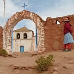 Kolonial kyrka. Machuca