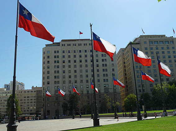 Plaza de la Constitucion. Santiago