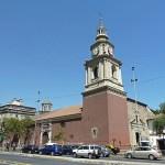 Stadens äldsta kyrka. Santiago