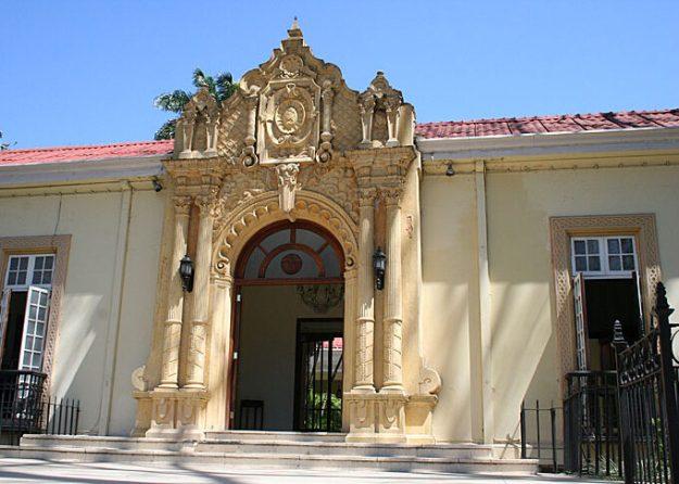 Kolinialt hus. San José