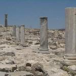 Romerska ruiner. Curium