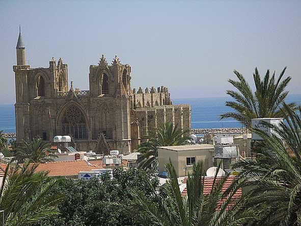 Moskén Lala Mustafa Pasa. Famagusta