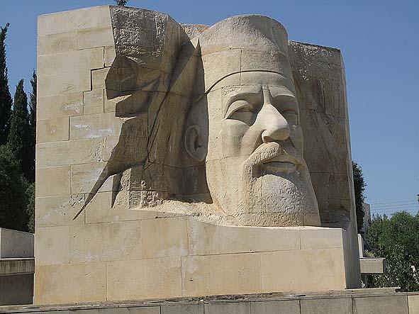 Makarios staty. Pafos