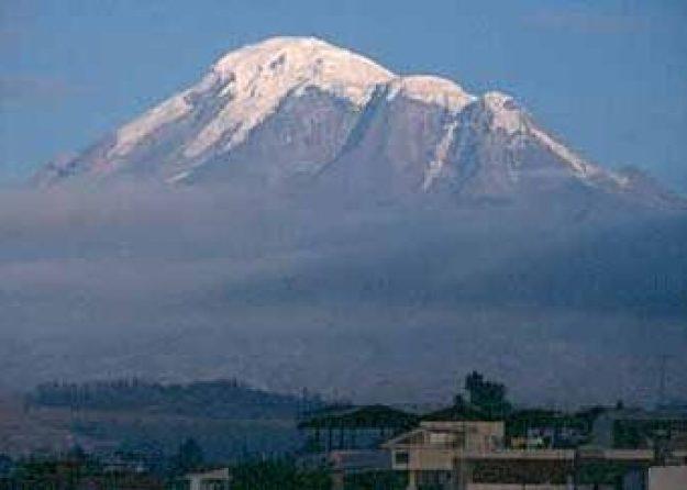 Vulkanen Chimborazzo, 6 310 möh