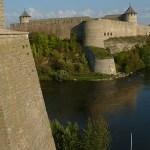 Vy mot Ivangorod. Narva