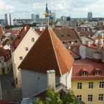 Vy över gamla staden. Tallin (U)