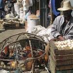 Stora marknaden. Addis Abeba