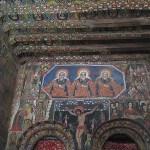 Kyrkan Debre Birhan Selassie. Gonder
