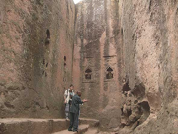 Mikaelskyrkan. Lalibela (U)