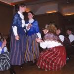 Folkdansare. Lerwick