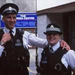 Glada poliser. Lerwick