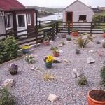 Trädgård. Scalpay