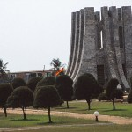 Kwame Nkrumahs mausoleum. Accra