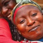 Kvinna på marknaden. Kumasi