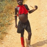 Pojke med stövlar