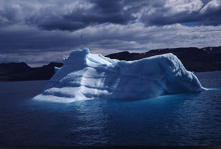 Isberg. Eriksfjorden