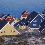 Färgfulla hus. Nuuk