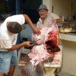 Hos fiskhandlaren. Tela