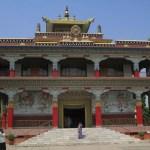 Tibetanska templet. Bodhgaya