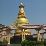 Tibetanskt tempel. Bodhgaya