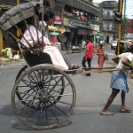 Rikshaw. Kolkata