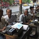 Skrivare. Kolkata