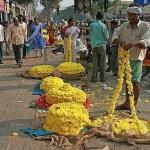 Blomsterförsäljare. Mysore