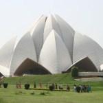 Lotustemplet. New Delhi