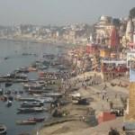 Floden Ganges. Varanasi