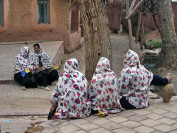 Kvinnor. Abyaneh