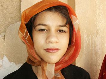 Persisk flicka. Pasargadae