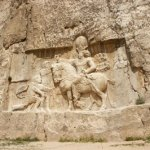 Väggrelief. Persepolis (U)