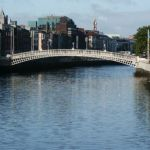 Halfpenny Bridge. Dublin